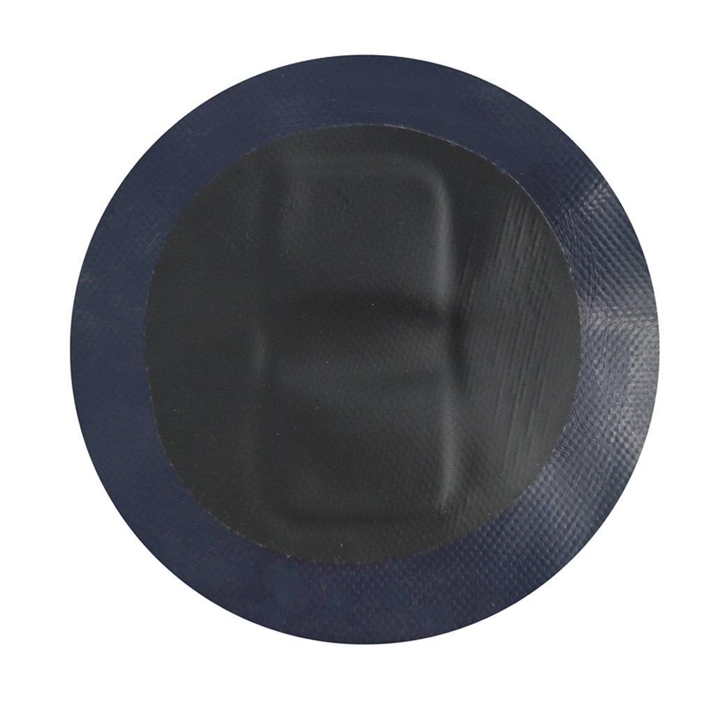 MagiDeal Confezione da 4 Toppa D-Ring con Anello in Acciaio Inox 316 Grado Marino per Gonfiabile Gommone per Barche - Nero