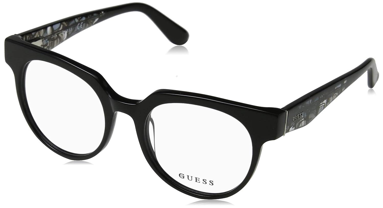 Guess gu2652 bicchieri in nero lucido GU2652 001 50