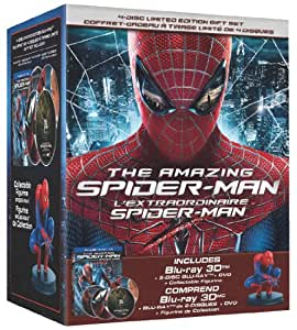 The Amazing Spider-Man 3D: Limited Edition Collector's Set + Figurine - L'extraordinaire Spider-Man 3D: Edition Limitée Collector + Figurine [Blu-ray 3D + Blu-ray + DVD] (Bilingual)