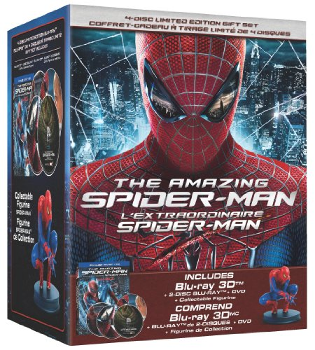 The Amazing Spider-Man 3D: Limited Edition Collector's Set + Figurine Collector + Figurine (Bilingual) [Blu-ray 3D + Blu-ray + - Spider Man 3 Collectors