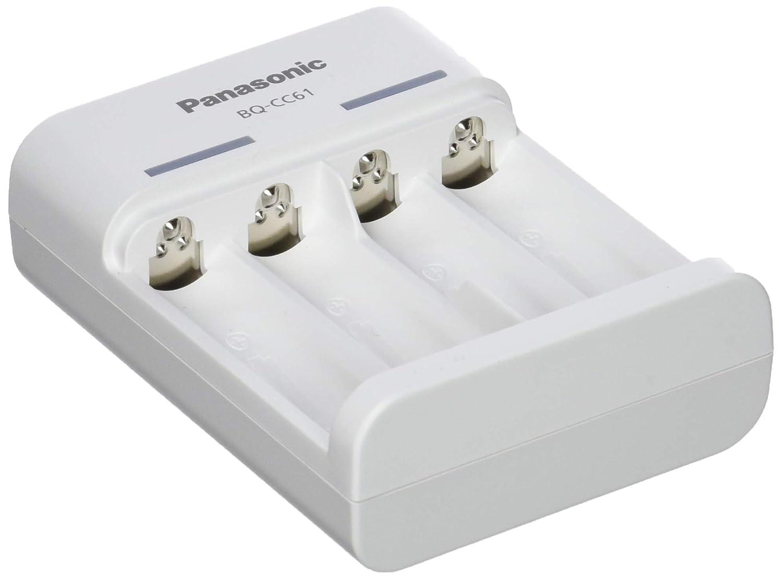 Color Blanco Panasonic eneloop 52061000/Cargador de USB