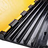 5-channel Warehouse Cable Protector Ramp Traffic Wire Cover