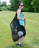 Keeble Outlets Mesh Ball Bag with Shoulder