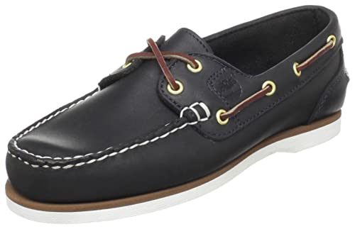 discount on feet at super specials Timberland Women's Classic 2-Eye Boat Shoe