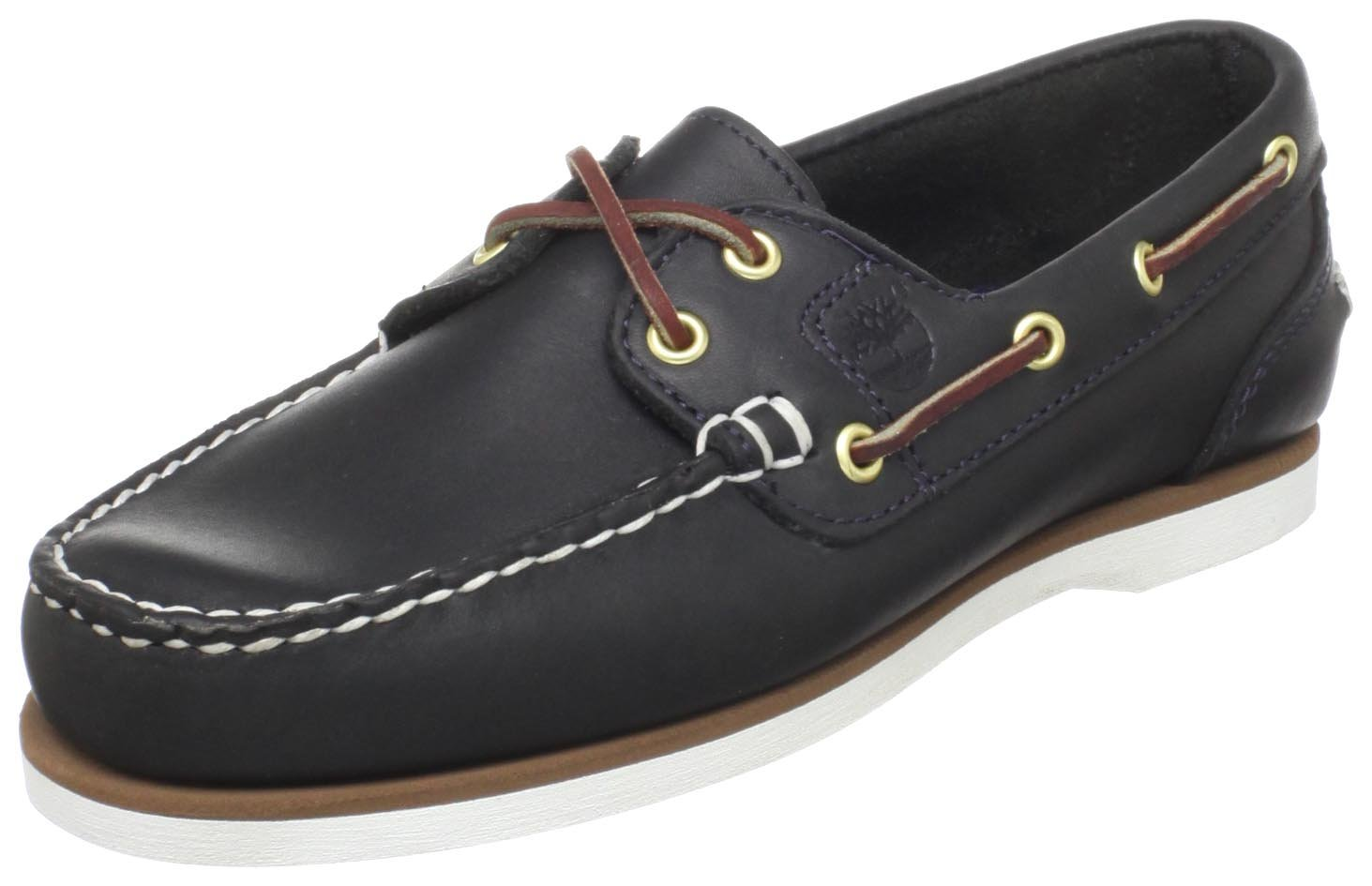 Timberland Women's Amherst Boat Shoe,Boat Navy,9 M US