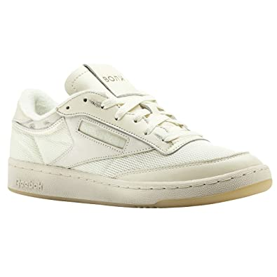 a0d71e4ed69 Reebok Club C 85 x Walk of Shame (Olympic Creme Yellow Fila) Men s ...