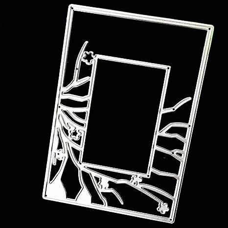 fnkdor troqueles para scrapbooking troquel Stencil metal Cutting Dies DIY álbum fotos, accesorios para Big
