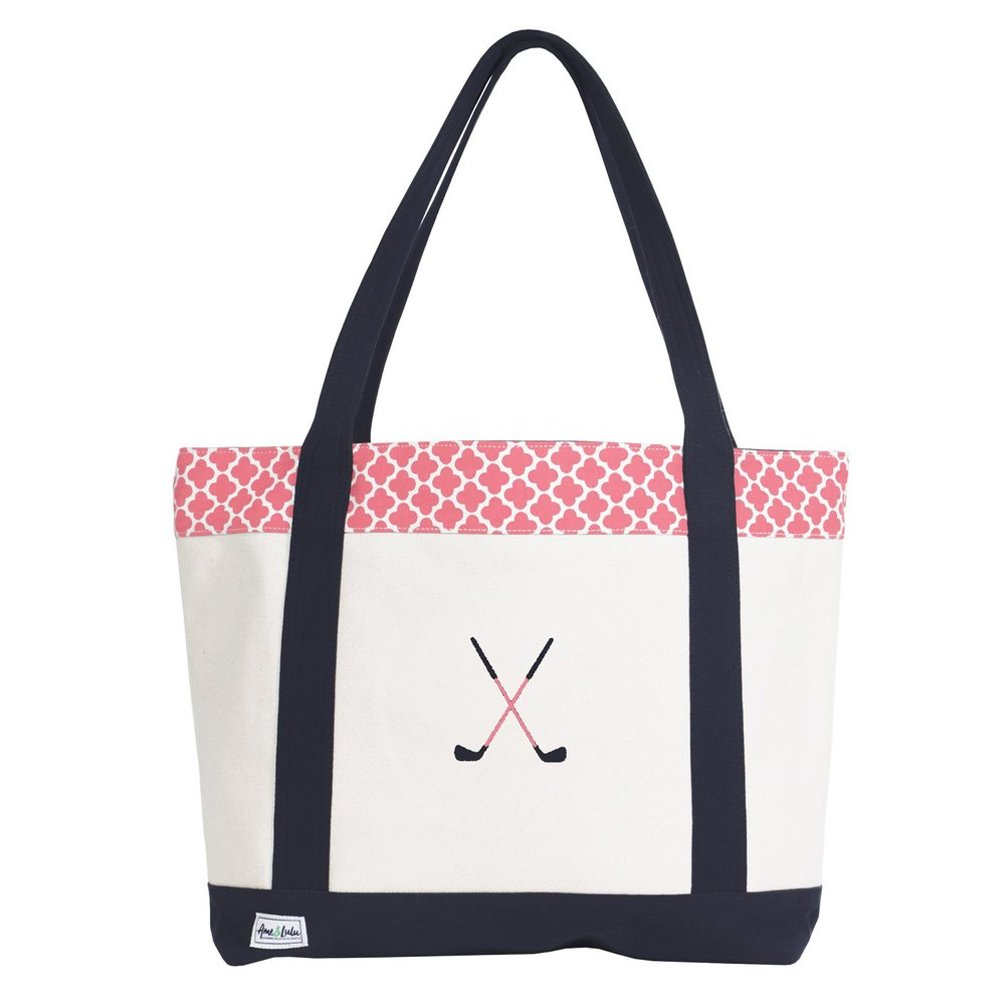 Ame & Lulu Golf Lovers Tote (Clover)