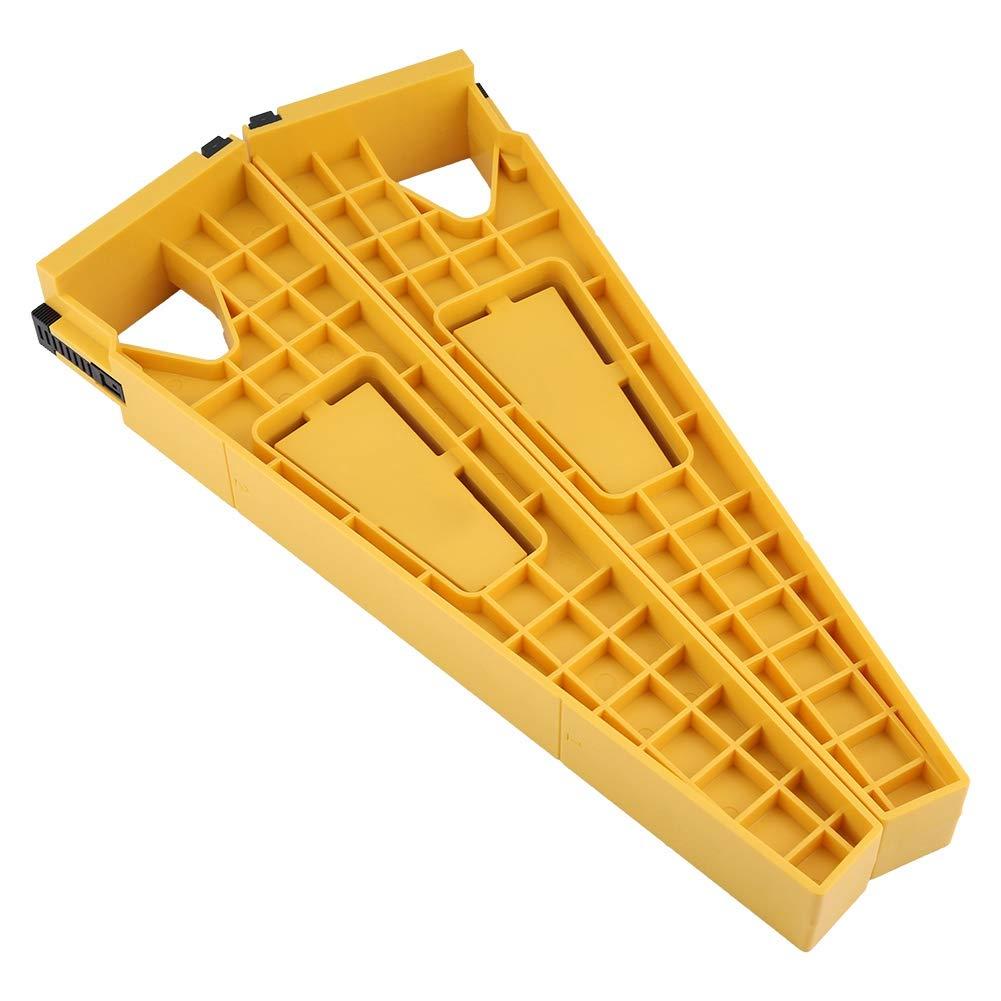 Zerone 2pcs Drawer Slide Jig Posicionamiento de los titulares Herramienta de Montaje Cabinet Drawer Track Jig de instalaci/ón