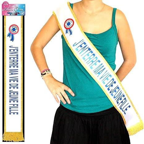 Echarpe Bleue Jenterre ma Vie de Jeune Fille  Amazon.fr  Jeux et Jouets 97a65b6e4e2