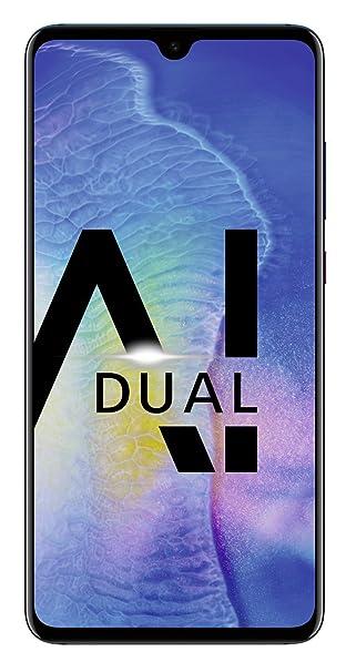 Huawei Mate20 Dual-SIM Smartphone Bundle (16,50 Zoll, 128 GB interner Speicher, 4 GB RAM, Android 9.0, EMUI 9.0) twilight + U