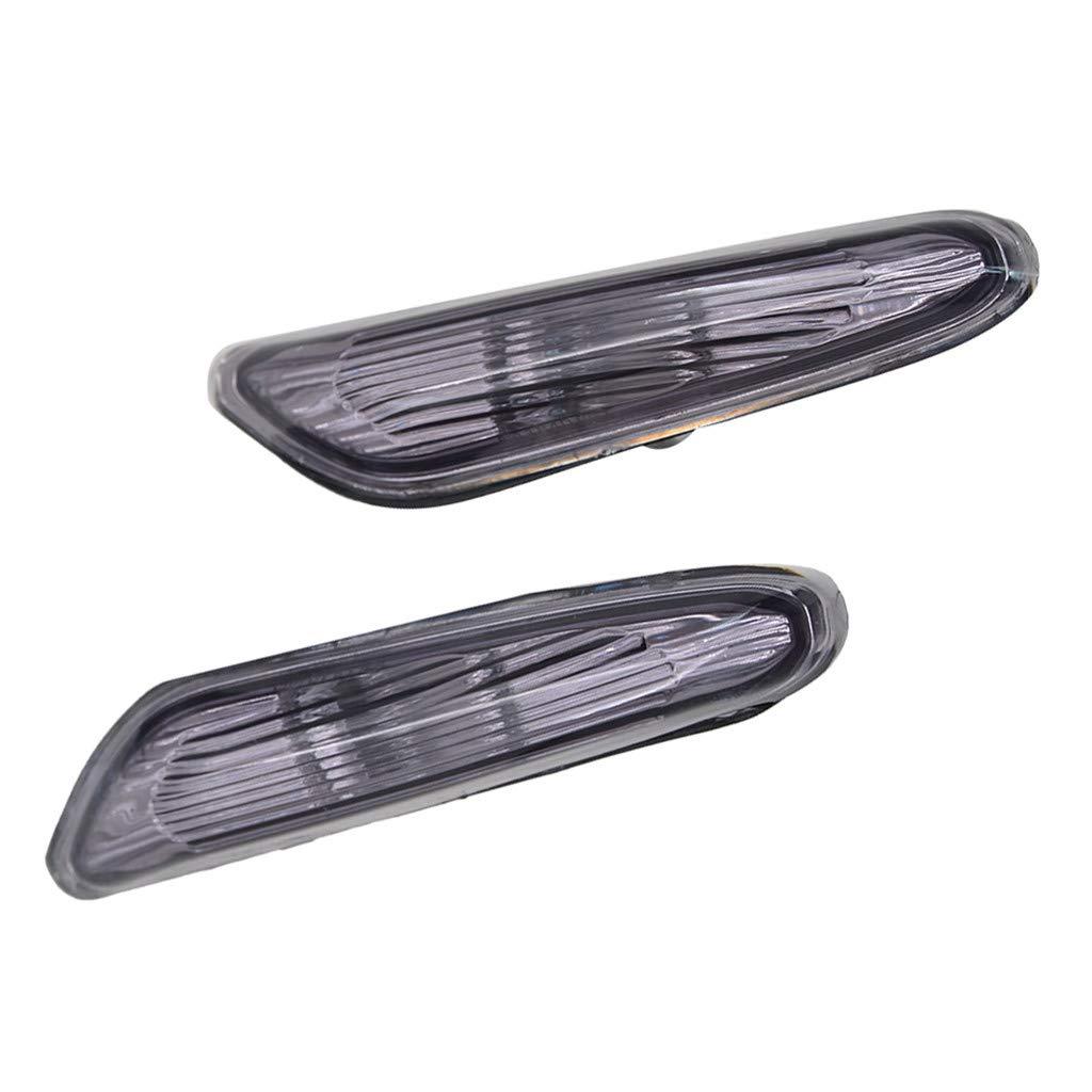 Led Feux de Position Lat/éraux Qiuday Lat/éral LED Clignotants Une paire de nouveaux feux de position lat/éraux /à gauche et /à droite du clignotant