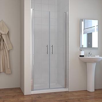 dusche 100cm nischenabtrennung duschkabine duschabtrennung duschtr pendeltr 100cm - Dusche Pendeltur Schwingtur