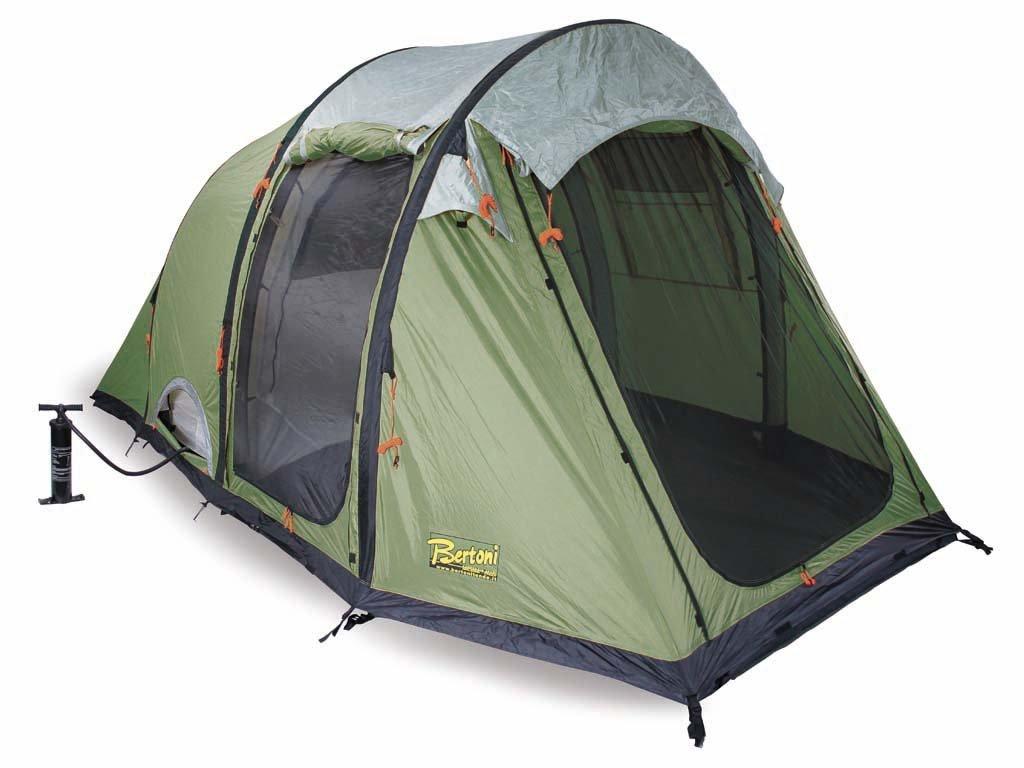 Bertoni Smart 5 Air Tenda da Campeggio Pneumatica, Verde Bosco ... : bagno da campeggio : Design