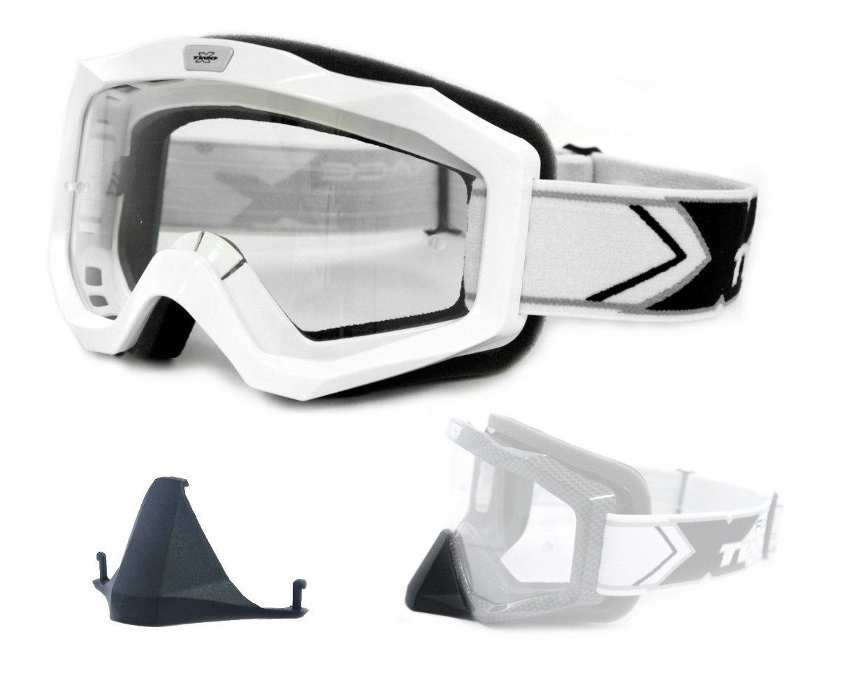 TWO-X EVO V2 Crossbrille iridium verspiegelt MX Enduro Motocross Cross Brille
