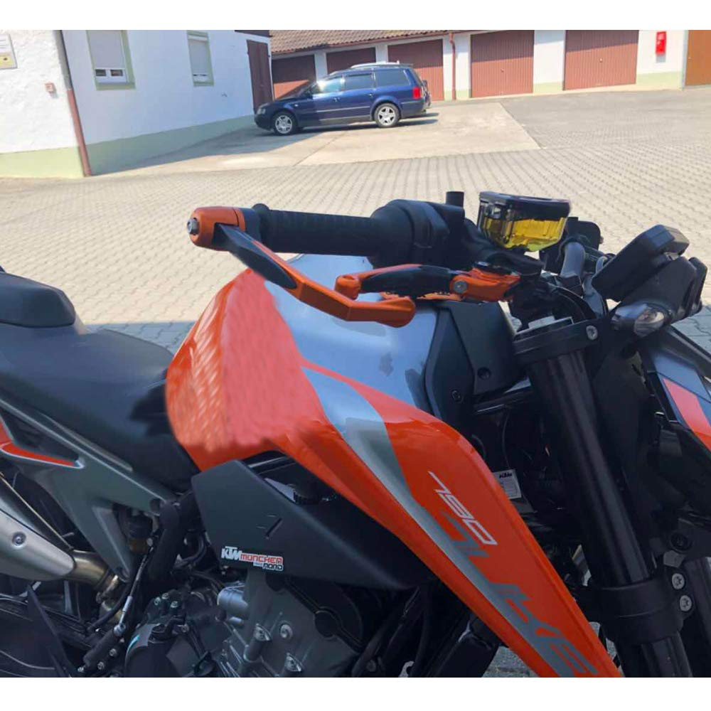 Xitomer Lever Guard, for Kawasaki Ninja 250 R/Ninja 300 R/GPZ 500 S/ZZR 600/ ER-6 F/ER-6 N/Z 650/ Ninja 650/ ZX-9 R/Ninja 1000 / Z 1000 SX/GTR 1400/ ...