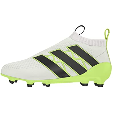 5f7599c62bb adidas Womens ACE 16+ Purecontrol FG AG Soccer Cleats - (White Solar