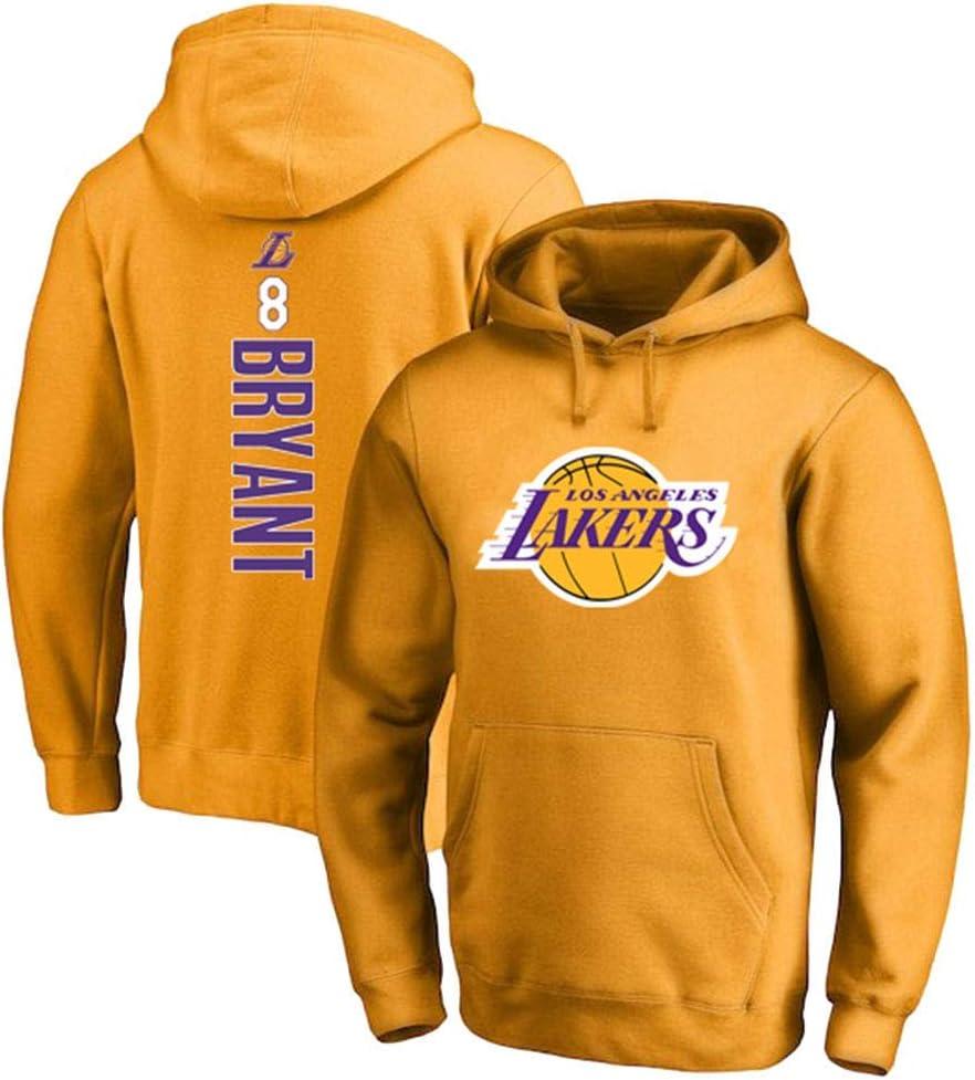 8 Kobe Bryant Jersey M/änner und Frauen Basketball-Jersey-T-Shirt Sport-Basketball-Top,Orange,XL James Davis No Yiming Basketball Hoodie