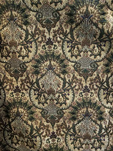 "Chenille Tapestry Upholstery Vintage Chenille 54"" Wide Sold by Yard"