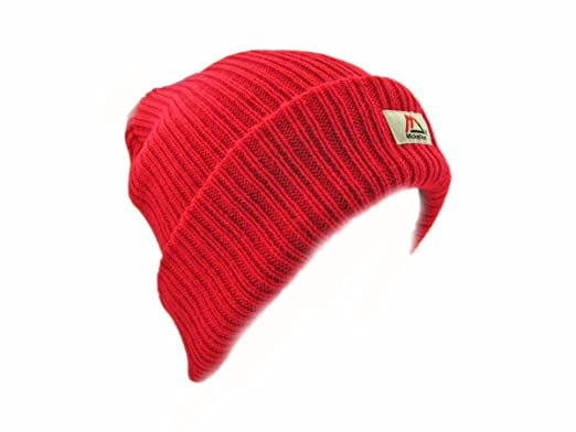 Image Unavailable. Image not available for. Colour  Red Beanie Hat 8293db87b42