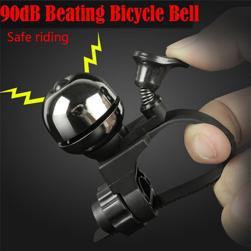 Mumustar Cycling Bike Ring Bell Mountain Road Mtb Electric Bike Handlebar Horn Bell Aluminum Alloy Brass 90DB Bike Accessories