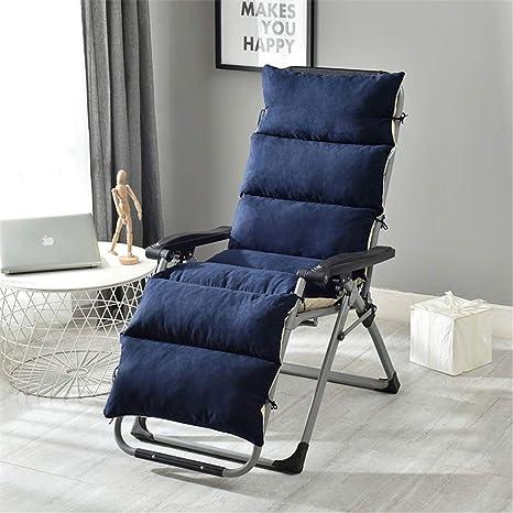 Cojín de silla antideslizante de ante de 69 pulgadas, cojín ...