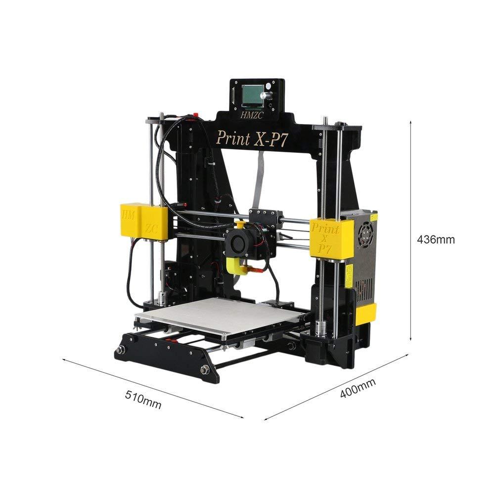 Paulsie Impresora 3D X-P7 Uso en el hogar de Alta precisión ...