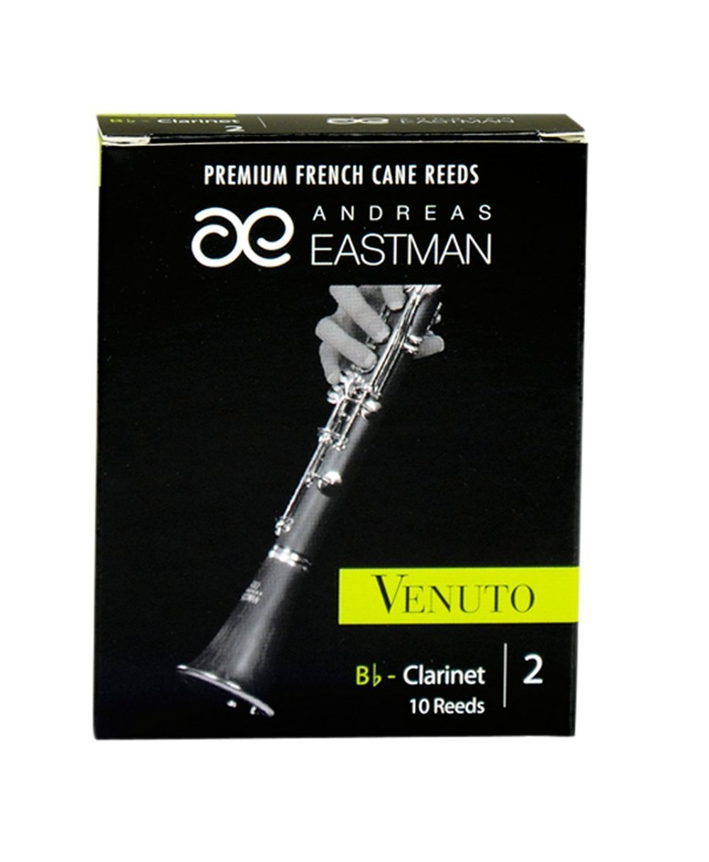 Andreas Eastman ACC-RDVCL2/10 Bb Clarinet Venuto Reeds, Size: 2