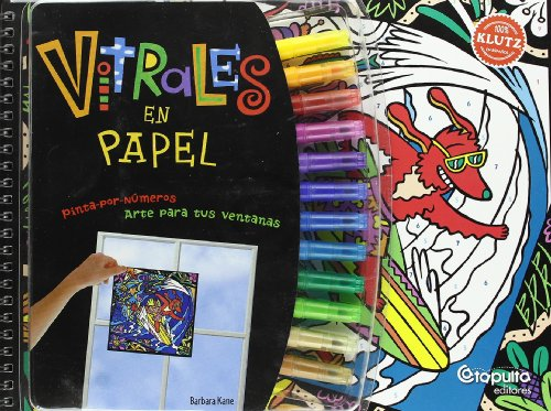 Vitrales de papel/ Paper Stained Glass (Spanish Edition)