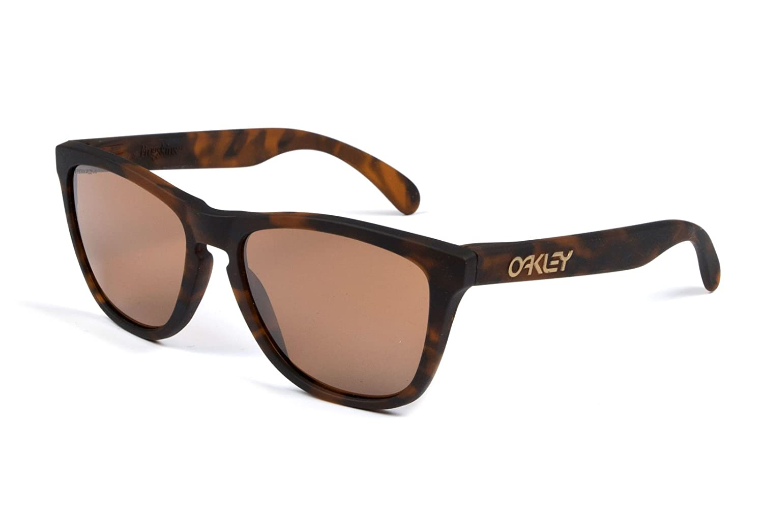 312eb7d35 Oakley Frogskins OO9013 C555 Sunglasses - Brown: Amazon.co.uk: Clothing