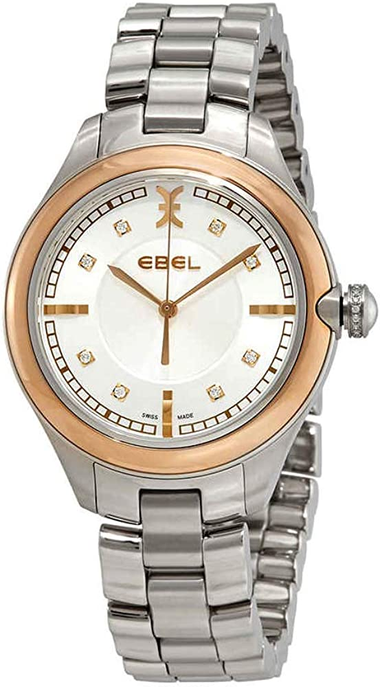 Ebel Onde White Mother von Pearl Dial Ladies Watch 1216240
