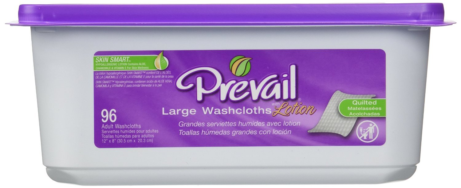 Prevail Premium Washcloths 96ct Tub (by the Each)