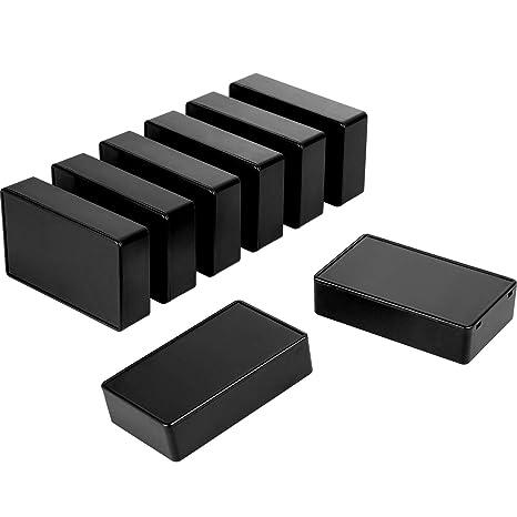 100 x 60 x 25 mm Caja de conexiones de pl/ástico para proyectos electr/ónicos
