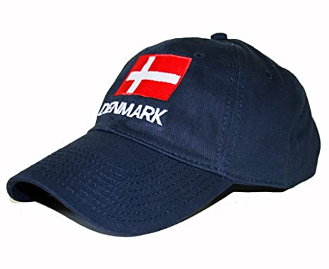 f33c0e45b4c Amazon.com : ScandinavianShoppe Denmark Embroidered Cap/Golf Hat ...