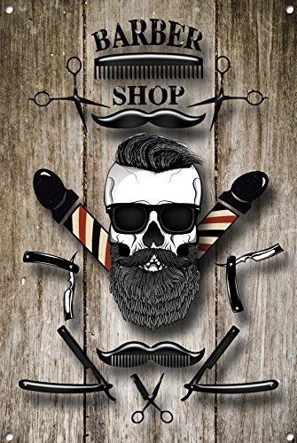 Barber Shop Sign Metal Sign Barber Shop Signs Modern Style Barber Shop 866 Buy Online In China At China Desertcart Com Productid 49728125