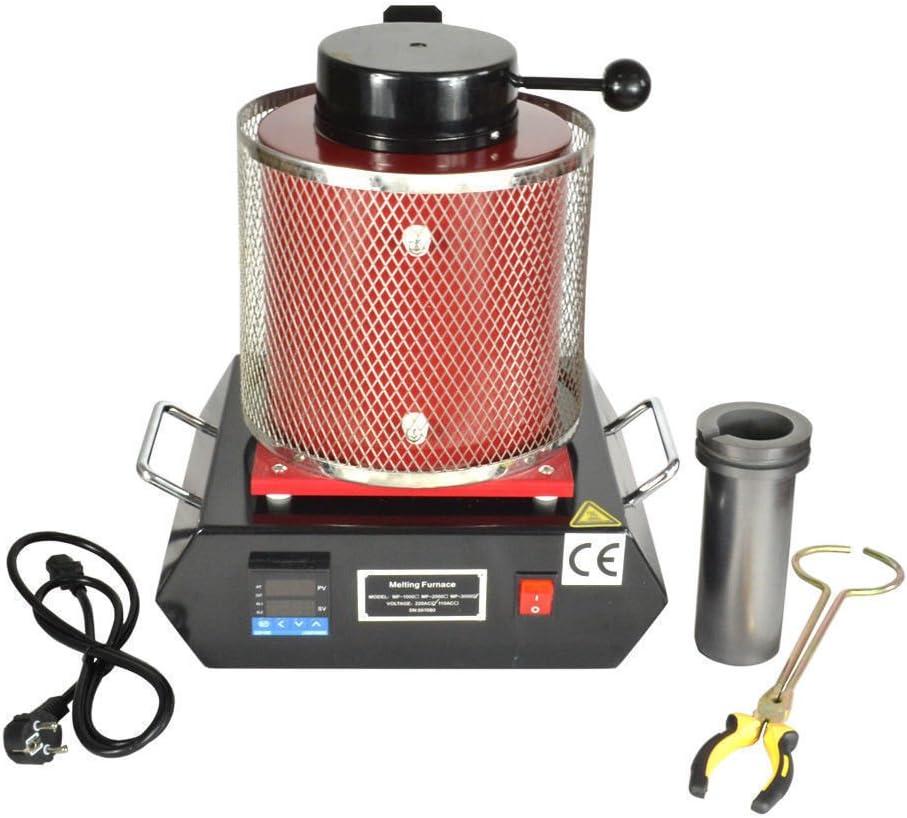 3KG Automactic  Electric Melting Furnace Gold Silver Smelter Digital Controller