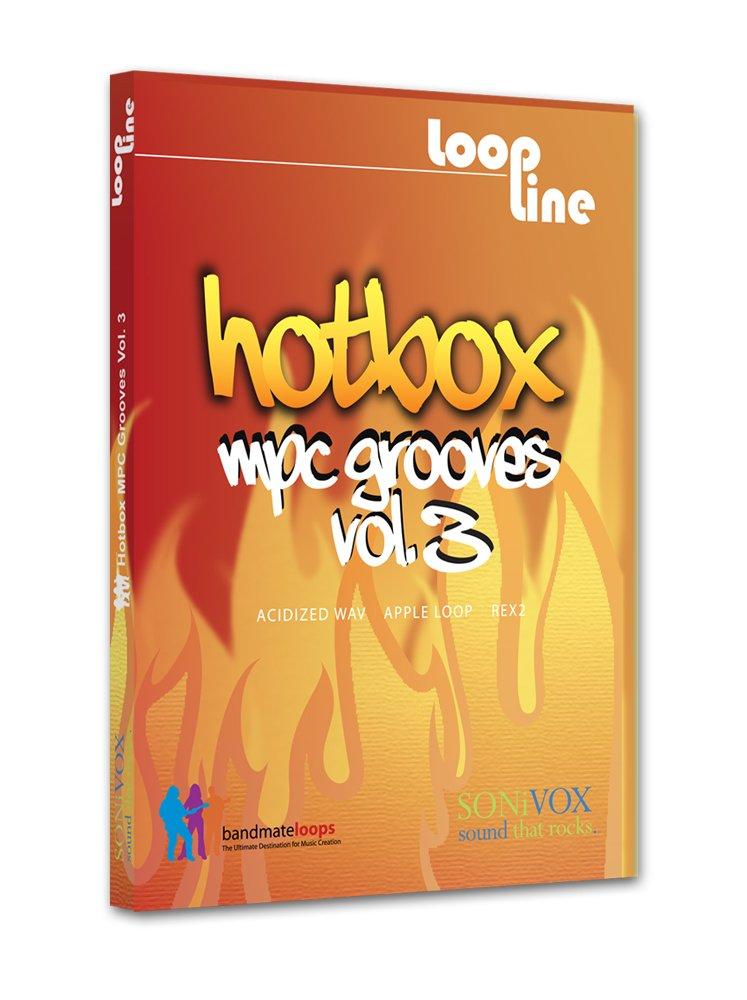 Sonivox Hotbox - Librería de loops y sonidos para producción musical Hotbox Vol 3 - MPC Grooves