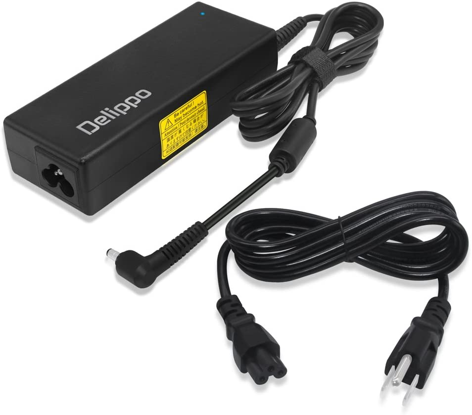 Delippo Extra Long 10.2Ft 19V 3.42A Laptop AC Adapter Compatiable with Acer Aspire V3-472P V3-572P V3-471G V5-561P-6823 V5-561P-9477 E1-421 M5-481 M3-481G V5-121 1810T 8481G P633 P645 P243 X483G