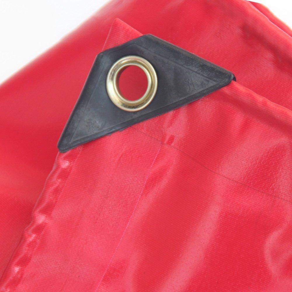 CAOYU Wasserdichte Anti-korrosion PVC-Tuch-Schuppen-Auto-Poncho-Tuchabdeckung des Plane Rote PVC-Hochzeit kalter hitzebeständiger Anti-korrosion Wasserdichte 70b1f2