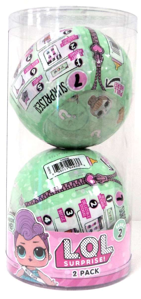 LOL Surprise Lil Outrageous Littles Series 2 Lets Be Friends! Mystery 2-Pack by L.O.L. Surprise!