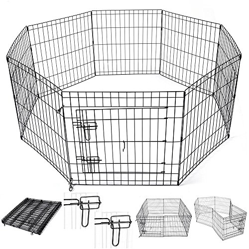 Yescom Playpen Exercise Kennel Outdoor