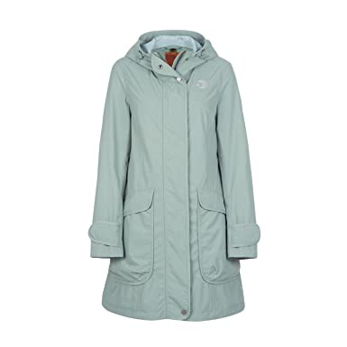 370719a3170be9 Finside Maiju green Damen Outdoor Parka wasserdichte Zip In Jacke ...