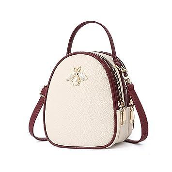 Amazon.com: Bolsas de hombro para mujer, bolsas de cuero ...