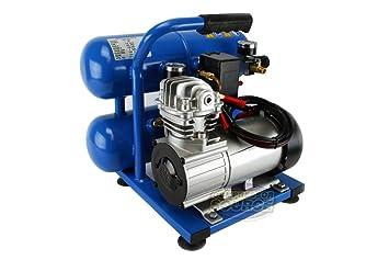 (barco de EEUU) Puma doble tanque 12 V, 2 Gallon oil-less Compresor De Aire/número de artículo # 8y-ifw81854283867: Amazon.es: Hogar