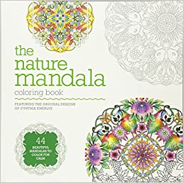 Amazon The Nature Mandala Coloring Book 9781781573341 Cynthia Emerlye Books