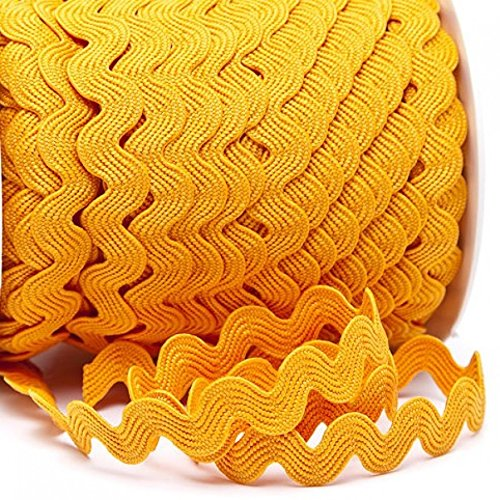 Zackenlitze Uni 12 mm // 12 mm 2m 100/% Polyester col.211 orange