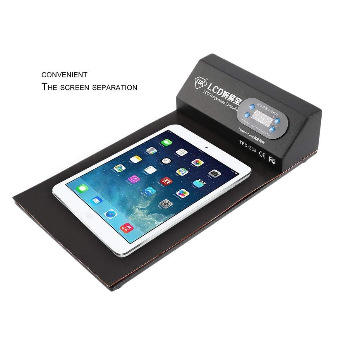 Fantasyworld TBK-568 Heizwerk LCD Handy Touch Screen /öffnen Remover Separator Kit LCD Separate Maschine Reparatur-Werkzeug f/ür Telefon-Tablette