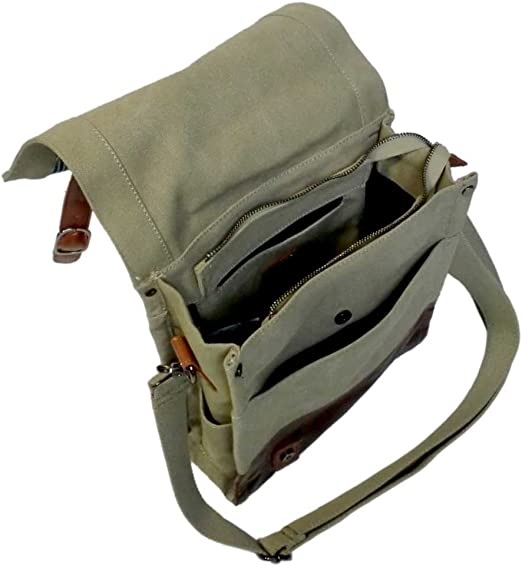 LICENCE 71195 Jumper Canvas MV Messenger Bag Beige
