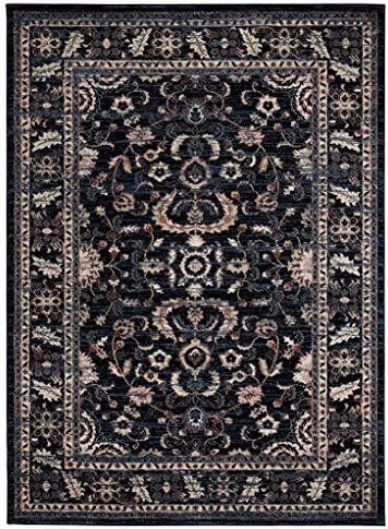 Luxe Weavers Waterloo Navy Oriental 8×10 Area Rug