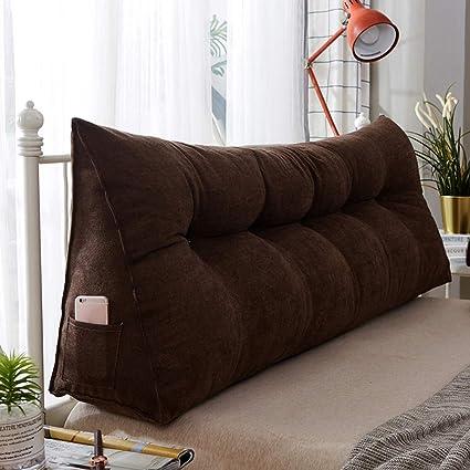Amazon.com : LMei-MC Cushions - Double Bedside Triangle ...